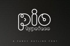PIO Rounded TrueType Product Image 1