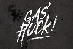 Gas'Rock! Font Product Image 1