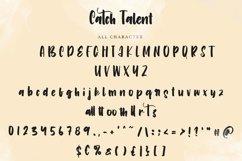 Catch Talent   Modern Handwritten Font Product Image 3