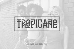 Tropicane Tyepface Product Image 1