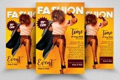 Fashion Promotion Flyer Product Image 1