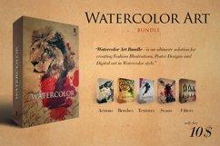 Watercolour Art Bundle Product Image 1