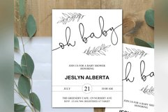 Baby Shower Invitation, Baby Shower, Invitations Template Product Image 2