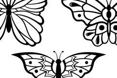 Butterflies Clip Art | Vector files Product Image 4