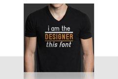 Hadia Typography Product Image 5