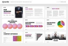 Dynamite - Creative Company Keynote Presentation Template Product Image 6