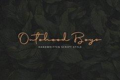 Special Font Bundle - Ontoohood Boys Product Image 6