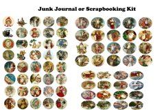 Vintage Christmas Junk Journal or Scrapbook Add Ons Kit PDF Product Image 6