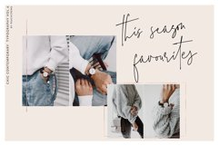 The Styled Edit- Chic Ligature Font Product Image 4