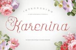 Karenina Script Font + Cute Vectors Product Image 1