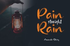 Rainly - Brush & SVG Font Product Image 4