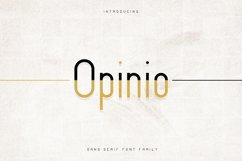 Opinio - Sans serif family Product Image 1