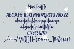 Mini Truffle - Cute Handlettering Font Product Image 4