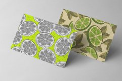 Orange juice patterns and frames Product Image 4
