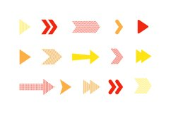 Arrow icons set Product Image 3