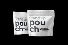 Zip Stand-up Pouch Mockup square Product Image 5