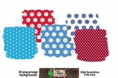 Patriotic July 4th Background for Dye Sublimation Product Image 3