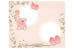 Baby Girl ClipArt Afroamerican Child Fashion Illustration Product Image 3
