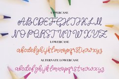 Simple Monoline A Handwritten Font Product Image 2