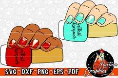 Nail Polish Cut File - A Cosmetology/Nail Technician Design Product Image 1