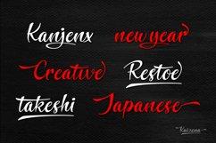 Kaizena - Modern Script Font Product Image 4