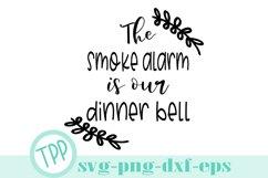 Kitchen svg, Funny kitchen smoke alarm svg design Product Image 1