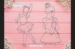 BALLERINA SVG Bundle, ballet svg, ballerina shoes svg, balle Product Image 5