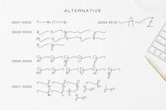 Olivia - Elegant Monoline Script Product Image 12