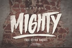 MIGHTY Typeface Product Image 1