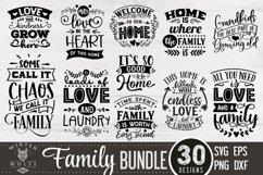 Family Bundle 30 designs SVG EPS DXF PNG Product Image 2