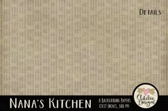 Nana's Kitchen Digital Scrapbook Kit Product Image 6