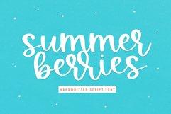 Summer Berries - Handwritten Script Font Product Image 1