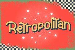 Retropolitan Font Product Image 1