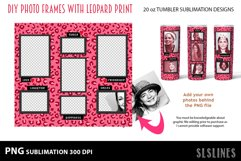 Skinny Tumbler Sublimation - Leopard Print Photo Frames Product Image 3