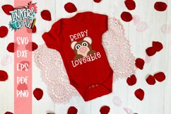 Beary Loveable Valentine SVG Product Image 1