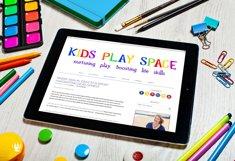 Rainbow Chalk fun kids font Product Image 4