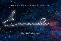 Emmanuella Signature Font Product Image 1