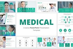 Medical and Healthcare Presentation PowerPoint Template Product Image 1
