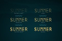 Summer Display Font family Product Image 2