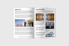 Multipurpose Bifold Brochure Template | Portfolio Brochure Product Image 5