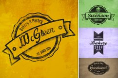 Bakery & Pastry Vintage logo Product Image 3