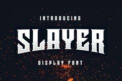Web Font Slayer Font Product Image 1
