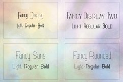 Fancy font family - 12 fonts Product Image 2