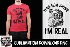 Sublimation Designs for t shirts-Adult humor Christmas -PNG Product Image 1