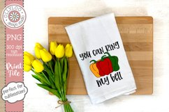 You Can Ring My Bell | Food Pun | Sublimation PNG Product Image 2