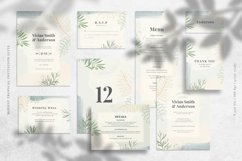 Modest Tropical Invitation Suite Product Image 5