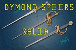 Dymond Speers Solid Type Font Product Image 1