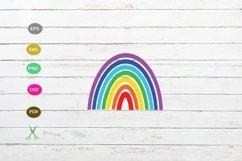 rainbow svg cut ifle,rainbow for cricut,rainbow design cut Product Image 1