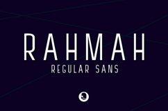 RAHMAH REGULAR SANS Product Image 1