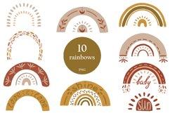 Textural BOHO rainbows Product Image 1